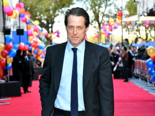 Hugh Grant (Matt Crossick/PA)