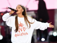 Ariana Grande shared a heartfelt message with fans ahead of the third anniversary of the Manchester Arena bombing (Dave Hogan for One Love Manchest/PA)