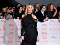 Danielle Armstrong has given birth to a baby girl (Matt Crossick/PA)