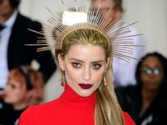 Amber Heard (Ian West/PA)