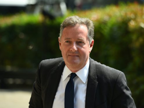 Good Morning Britain host Piers Morgan is set to return to the show after he tested negative for Covid-19 (Kirsty O'Connor/PA)