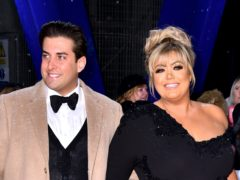 James Argent and Gemma Collins (Matt Crossick/PA)