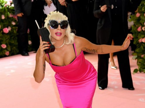 Lady Gaga looks set to hold on to the top spot (Jennifer Graylock/PA)