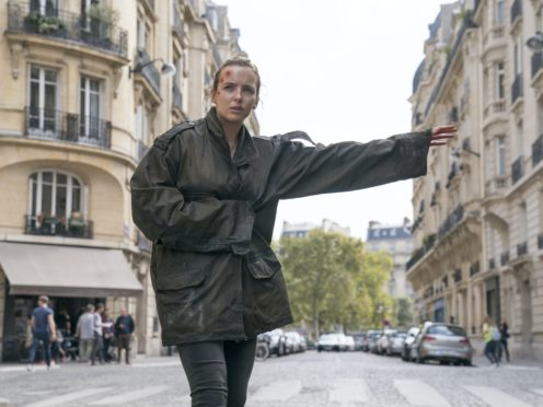 Jodie Comer as Villanelle in the BBC drama Killing Eve (Aimee Spinks/BBC/PA)