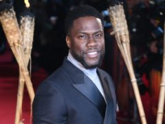 Kevin Hart has given a doctor a part in his next film (Matt Crossick/PA)