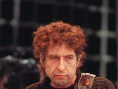 A Bob Dylan manuscript featuring handwritten lyrics from the singer has sold afor £37,500 (Stefan Rousseau/PA)