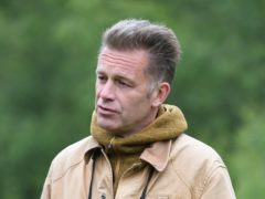 Chris Packham presented the show from the woodland around his home (Joe Giddens/PA)
