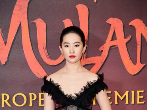 Lui Yifei stars in Mulan, which has been delayed due to the coronavirus pandemic (Ian West/PA)