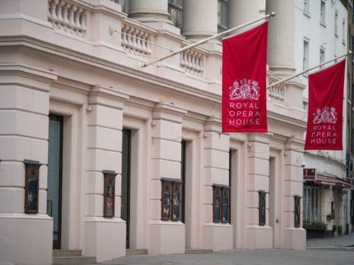 Royal Opera House staff are making scrubs (Aaron Chown/PA)