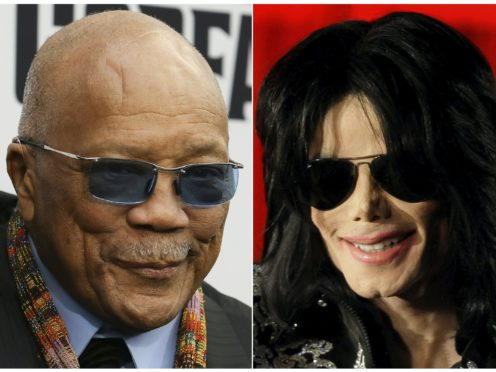Quincy Jones, left, initially sued for $30 million (AP/PA)