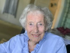 Dame Vera Lynn has become the oldest ever artist to score a top 40 album in the UK (Decca/PA)