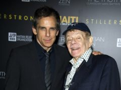 Ben Stiller, left, with his father Jerry Stiller (Charles Sykes/AP)