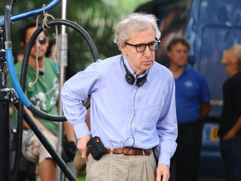 Woody Allen says he has 'never been part of the club in Hollywood' (Ian West/PA)