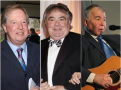Tim Brooke-Taylor, Eddie Large and John Prine are among the celebrities to have died after contracting coronavirus (Andy Butterton/Yui Mok/Niall Carson/PA)