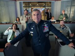 Steve Carell in Space Force (Aaron Epstein/Netflix)