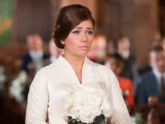 Hollyoaks star Nikki Sanderson recalled her hard-hitting domestic abuse storyline (Hollyoaks/PA)