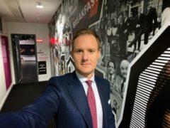 Dan Walker shares behind the scenes look on BBC Breakfast (BBC)