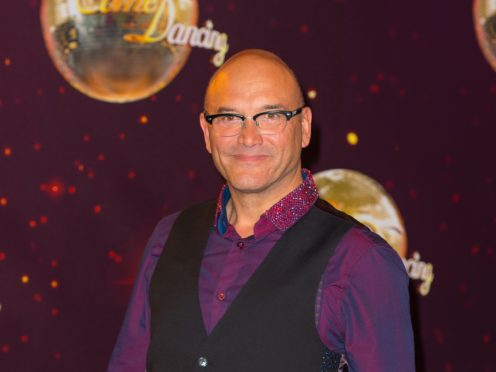 Gregg Wallace attending the launch of Strictly Come Dancing 2014, at Elstree Studios, Borehamwood, Hertfordshire.