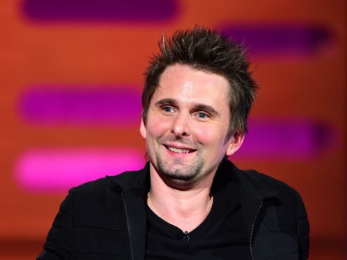Matt Bellamy of Muse (Ian West/PA)