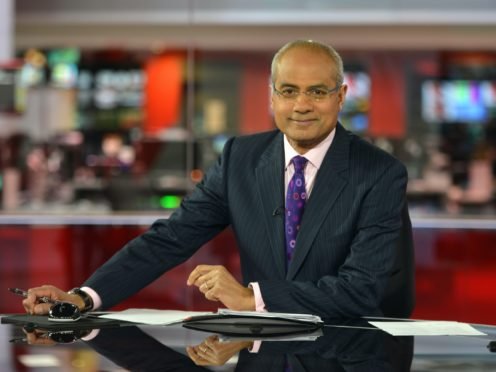 George Alagiah was first diagnosed with cancer in 2014 (Jeff Overs/PA)