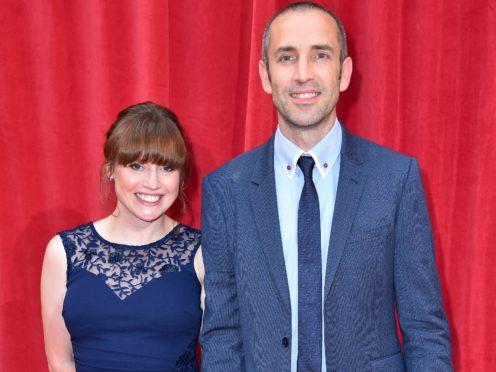 Karen Blick and James Hooton (Matt Crossick/PA)