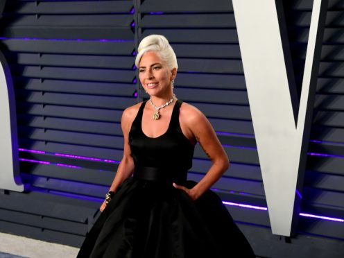 Lady Gaga has trounced the field in the race to get to number one (Ian West/PA)