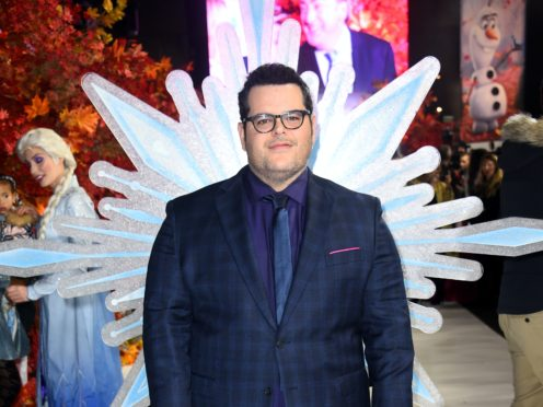 Frozen 2 star Josh Gad admitted he was 'intimidated' by the cameras recording a documentary on the making of the film (Matt Crossick/PA)