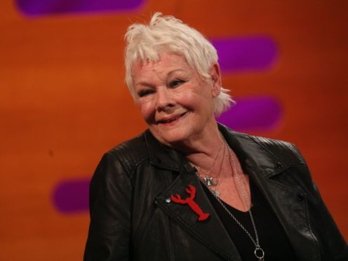 Dame Judi Dench said it was 'vital to do something like this' during lockdown (Isabel Infantes/PA)