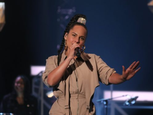Alicia Keys' new song is called Perfect Way To Die (Isabel Infantes/PA)