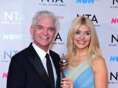 Phillip Schofield and Holly Willoughby (Ian West/PA)