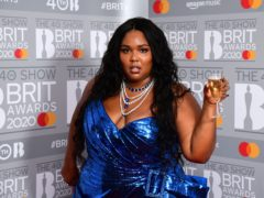 Lizzo was among the winners at the 20th BET Awards (Ian West/PA)