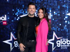 Mark Wright and Michelle Keegan (Lia Toby/PA)