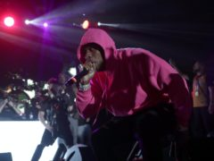 Rapper DaBaby paid tribute to George Floyd during a powerful performance at the BET Awards (AP Photo/Lynne Sladky, File)
