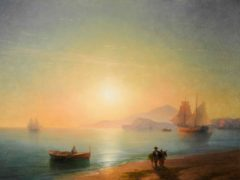 Ivan Aivazovsky's The Bay Of Naples (Sotheby's/PA)