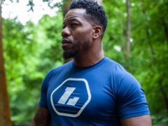 Leon Rolle, also known as Locksmith, has launched his own fitness clothing range (PA)