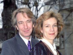 Alan Rickman and Juliet Stevenson (Jim James/PA)