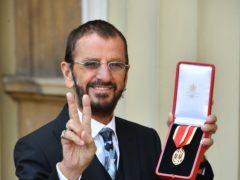 Sir Ringo Starr (John Stillwell/PA)