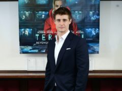 Condor star Max Irons has revealed he was 'sweating and shaking' when learning how to use a machine gun in the thriller series (Ian West/PA)
