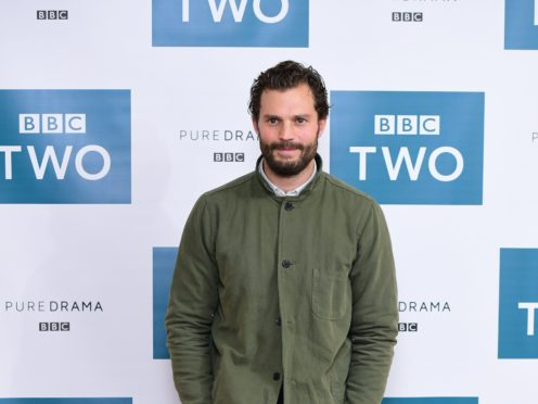 Jamie Dornan has given fans a glimpse into his life during lockdown (Ian West/PA)