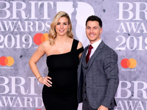 Gemma Atkinson and Gorka Marquez met on Strictly Come Dancing (Ian West/PA)