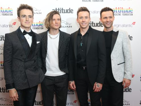 """Chart-topping band McFly were left """"broken"""" after drifting apart for four years, drummer Harry Judd said (Matt Alexander/PA Wire)"""