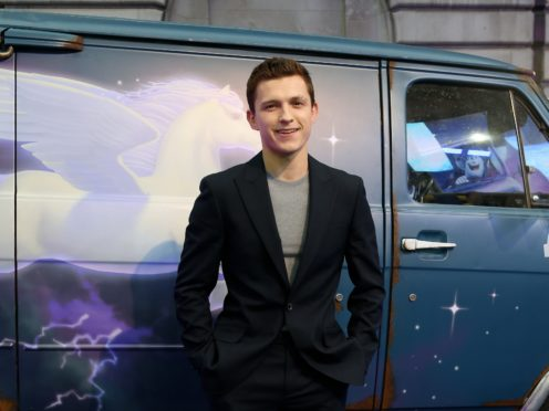 Tom Holland will play a young Nathan Drake (Lauren Hurley/PA)