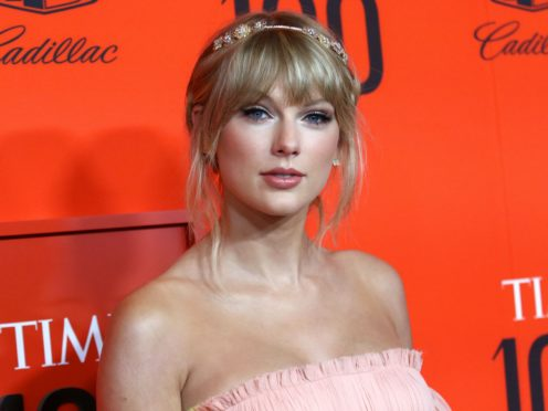 Taylor Swift's surprise new album Folklore sold more than 1.3 million copies worldwide within 24 hours of release, her record label said (Greg Allen/PA)