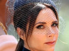 Victoria Beckham said she was 'so happy' to have son Brooklyn home after he spent lockdown in the US (Chris Radburn/PA)