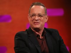 Tom Hanks was diagnosed with Covid-19 in March (Isabel Infantes/PA)