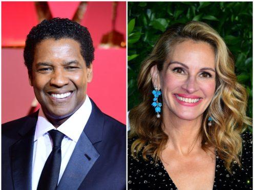 Oscar winners Denzel Washington and Julia Roberts will reunite to star in Netflix drama Leave The World Behind (Ian West/PA)
