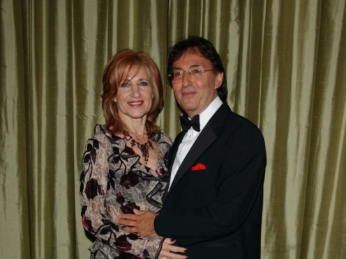 Don Black with his wife Shirley (Ian West/PA)