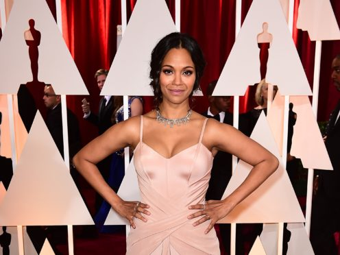 Marvel star Zoe Saldana has apologised for playing revered singer and civil rights activist Nina Simone in a much-maligned 2016 biopic (Ian West/PA)