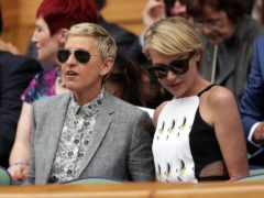 Ellen DeGeneres's wife has broken her silence and thanked fans for their support amid controversy surrounding the TV star's chat show (Adam Davy/PA)