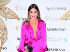 Louise Thompson has revealed her new ankle tattoo (Ian West/PA)
